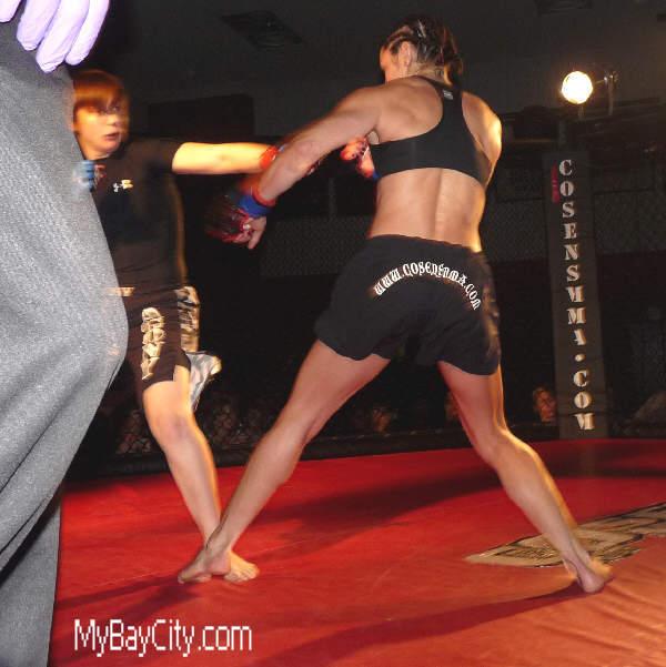MyBayCity com Mixed Martial Arts Fighter Crystal Starkey